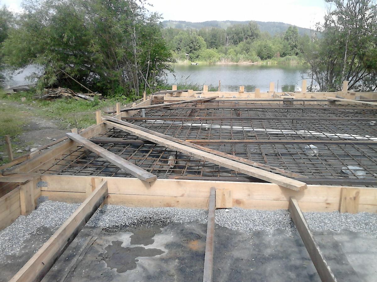 Строительство фундамента, гидроизоляция, марка бетона мастика для герметизации швов в ж/б панелях