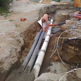 Монтаж канализации и трубопроводов